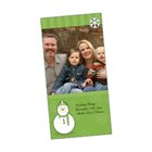 4 x 8 Vertical Slimline Greeting Card With Envelope - Season's Greetings
